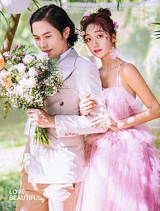 少女的心事_三亚婚纱摄影主题婚纱照