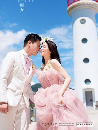 婚纱照客片-杨先生和李女士_三亚婚纱摄影主题婚纱照