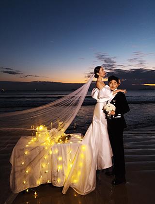 漫步在你的星河里_三亚婚纱摄影主题婚纱照