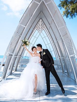 我们来日方长_三亚婚纱摄影主题婚纱照