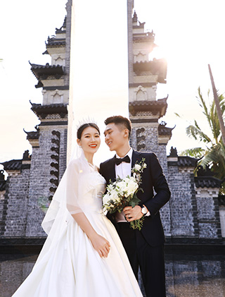 喜欢就是那种恰巧的温柔_三亚婚纱摄影主题婚纱照
