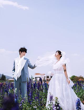 爱在向阳处开花_主题三亚婚纱摄影