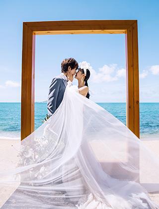 爱你的每一刻_主题三亚婚纱摄影