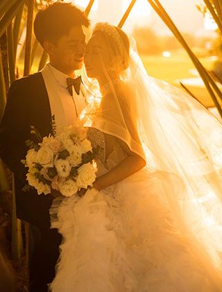 刘先生和马女士的三亚婚纱照_三亚婚纱摄影主题婚纱照
